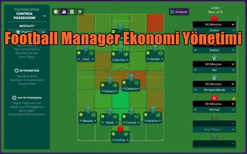 Football Manager Ekonomi Yönetimi