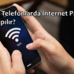 Huawei Telefonlarda İnternet Paylaşımı Nasıl Yapılır?