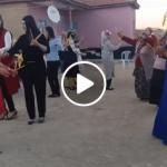 Köylü Ablalardan Muhteşem Emirdağ Yöresi Kaşık Oyunu