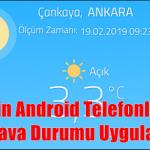 2020'nin Android Telefonlar İçin En İyi Hava Durumu Uygulamaları