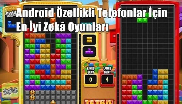 Android Telefonlar İçin En İyi Zekâ Oyunları