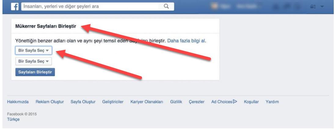 Facebook Sayfa Birleştirme İşlemi Nasıl Yapılır?