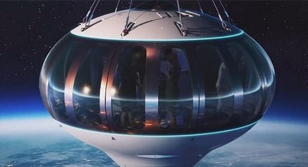 Uzaya Balonla Seyahat Turizmi Başlıyor