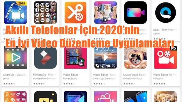 Akıllı Telefonlar İçin 2020'nin En İyi Video Düzenleme Uygulamaları