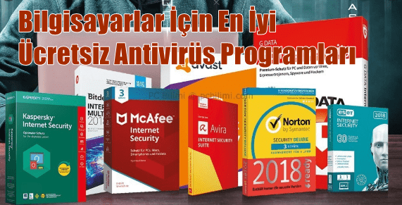 Bilgisayarlar İçin En İyi Ücretsiz Antivirüs Programları