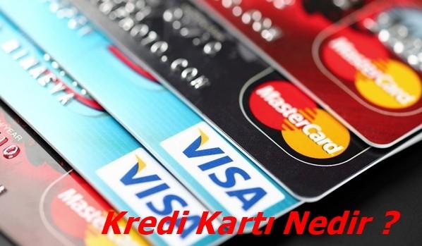 Kredi kartı nedir